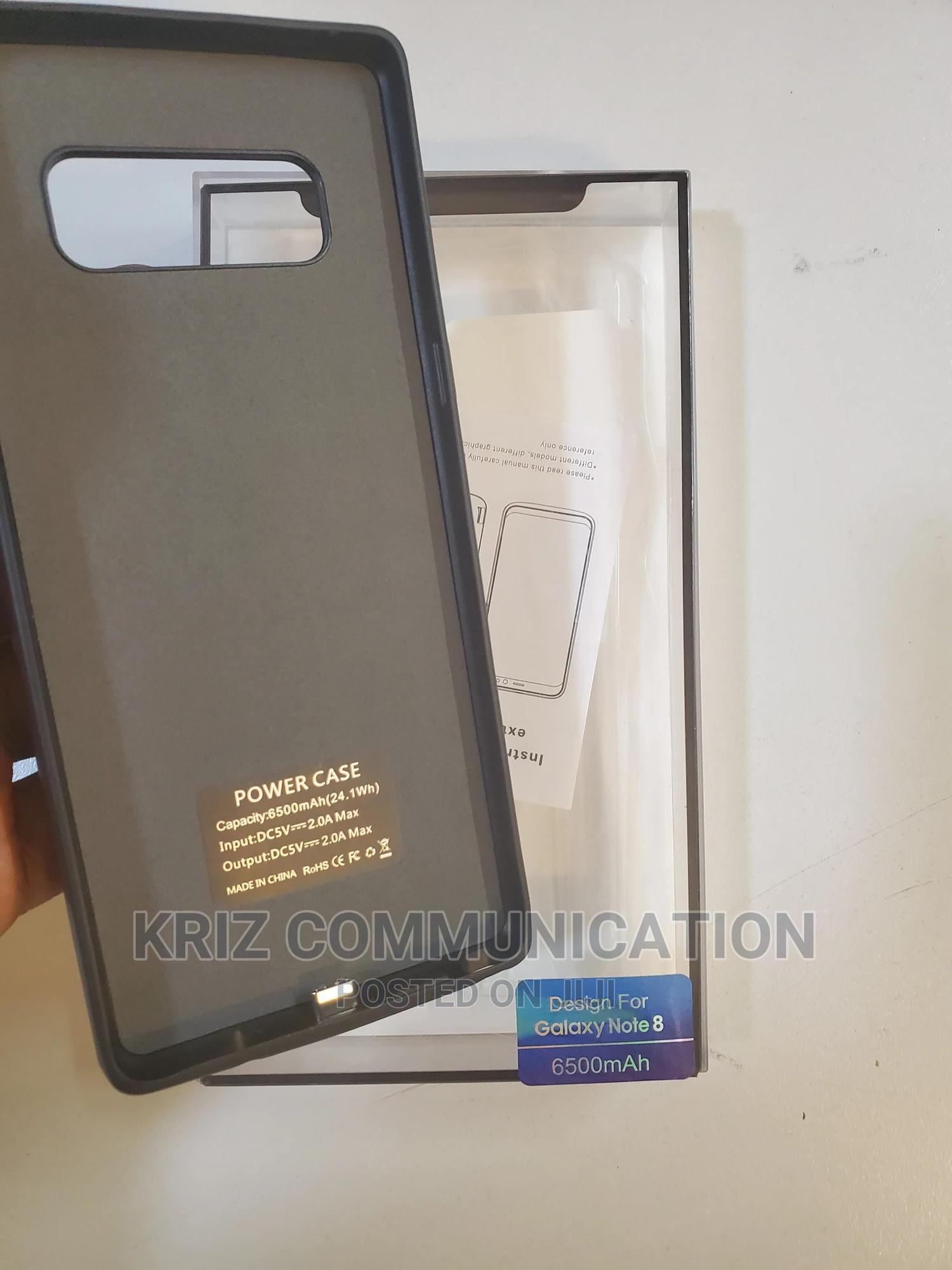 Samsung Note 8 6500mah Battery Case | Accessories for Mobile Phones & Tablets for sale in Ikeja, Lagos State, Nigeria