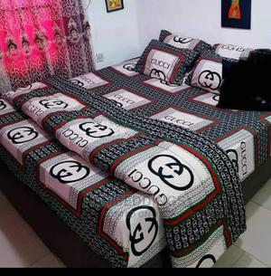 Super Duvet, Bedspread and 4 Pillowcases   Home Accessories for sale in Lagos State, Ikeja