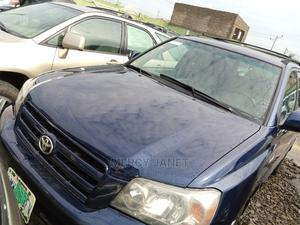 Toyota Highlander 2004 V6 AWD Blue | Cars for sale in Lagos State, Agege