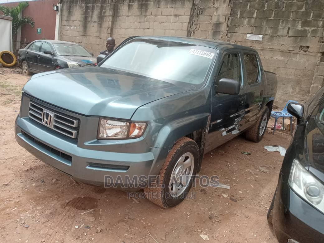 Honda Ridgeline 2008 Green | Cars for sale in Ikeja, Lagos State, Nigeria