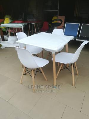 Wood Restaurant/Dinning Table With 4 Chairs   Furniture for sale in Lagos State, Ajah