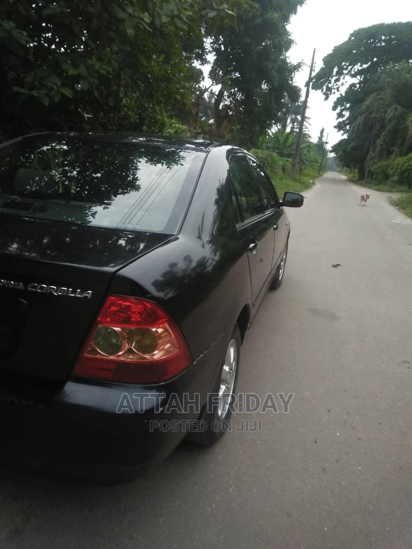 Archive: Toyota Corolla 2007 140i Black
