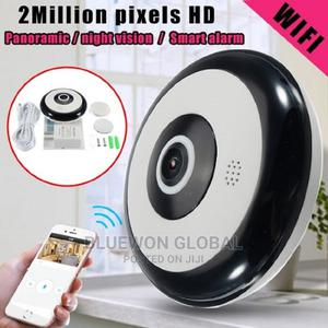 Smart WIFI Panoramic IP Camera for Smartphone View | Security & Surveillance for sale in Lagos State, Ikeja