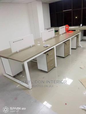 Quality Wooden Work Station | Furniture for sale in Plateau State, Bassa-Plateau