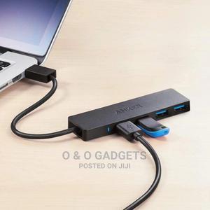 Anker 4-Port USB 3.0 Hub Ultra-Slim Data Hub | Computer Accessories  for sale in Lagos State, Lagos Island (Eko)