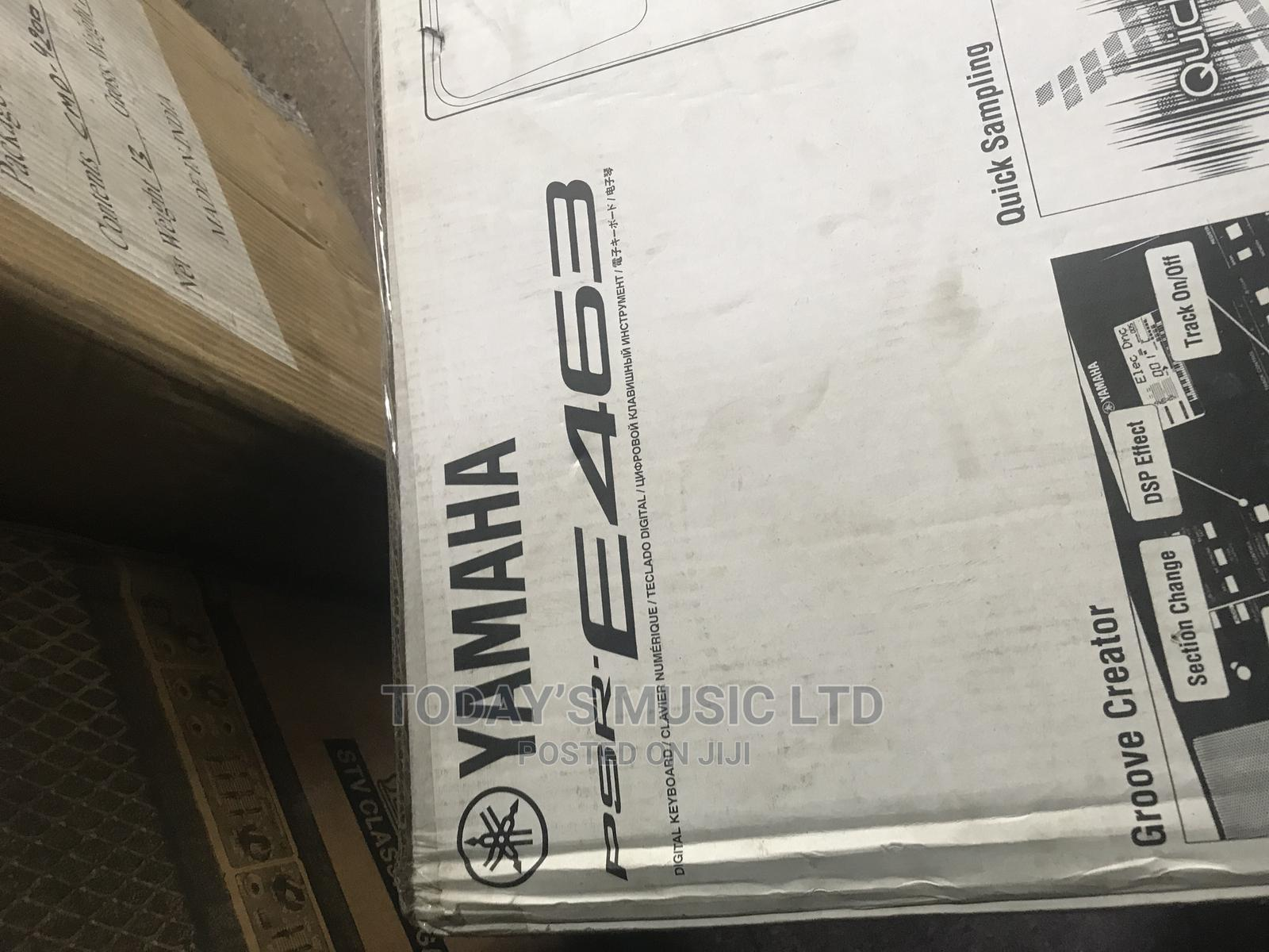 Brand New Yamaha Psr E463   Musical Instruments & Gear for sale in Ojo, Lagos State, Nigeria