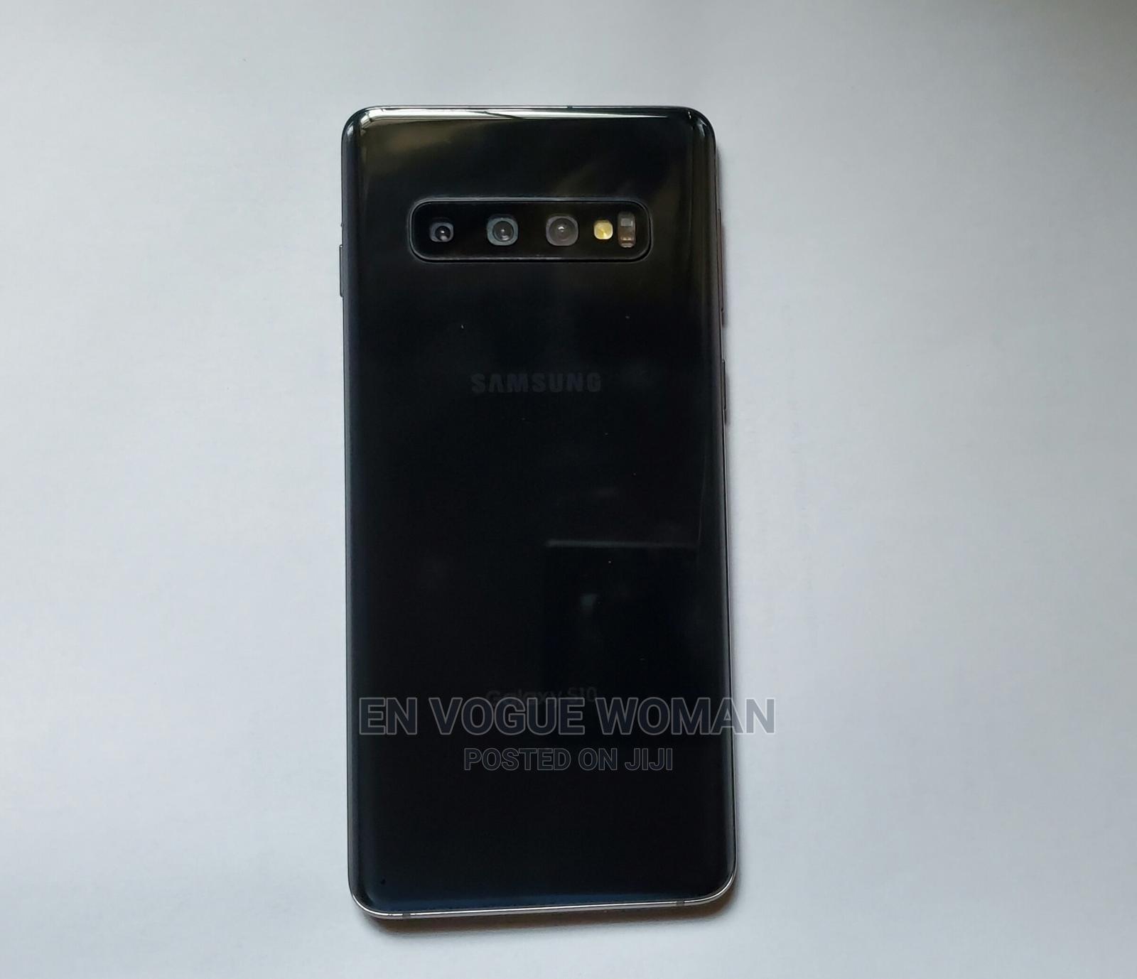 Samsung Galaxy S10 128 GB Black   Mobile Phones for sale in Ikeja, Lagos State, Nigeria