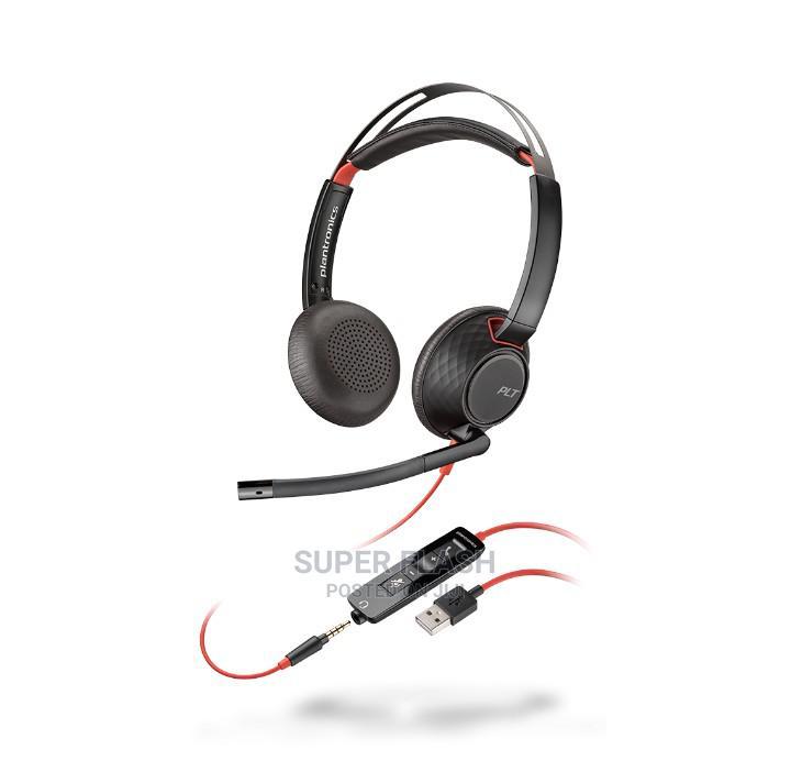 Plantronics Blackwire 5200 Series | Headphones for sale in Ikeja, Lagos State, Nigeria