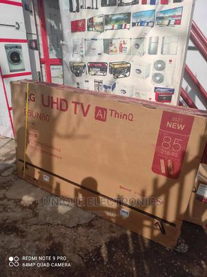 2021 Made LG 85'' Android UHD 4K SMART TV +Bluetooth + WI-FI | TV & DVD Equipment for sale in Lagos State, Ojo