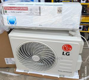 L.G Original 1.5hp Dual Inverter Air Conditioner   Home Appliances for sale in Lagos State, Ojo