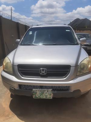 Honda Pilot 2003 LX 4x4 (3.5L 6cyl 5A) Silver | Cars for sale in Lagos State, Ikorodu
