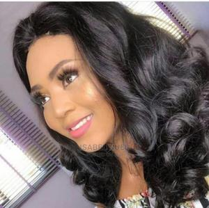 16 Inches Bouncy Tip Pure Human Hair Wig With Closure. | Hair Beauty for sale in Lagos State, Surulere