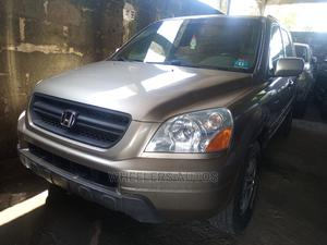 Honda Pilot 2004 EX 4x4 (3.5L 6cyl 5A) Gold | Cars for sale in Lagos State, Amuwo-Odofin