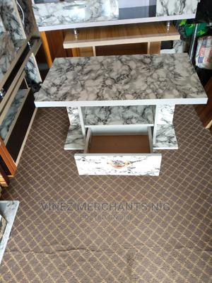 Wooden Marble Center Table | Furniture for sale in Lagos State, Ojo