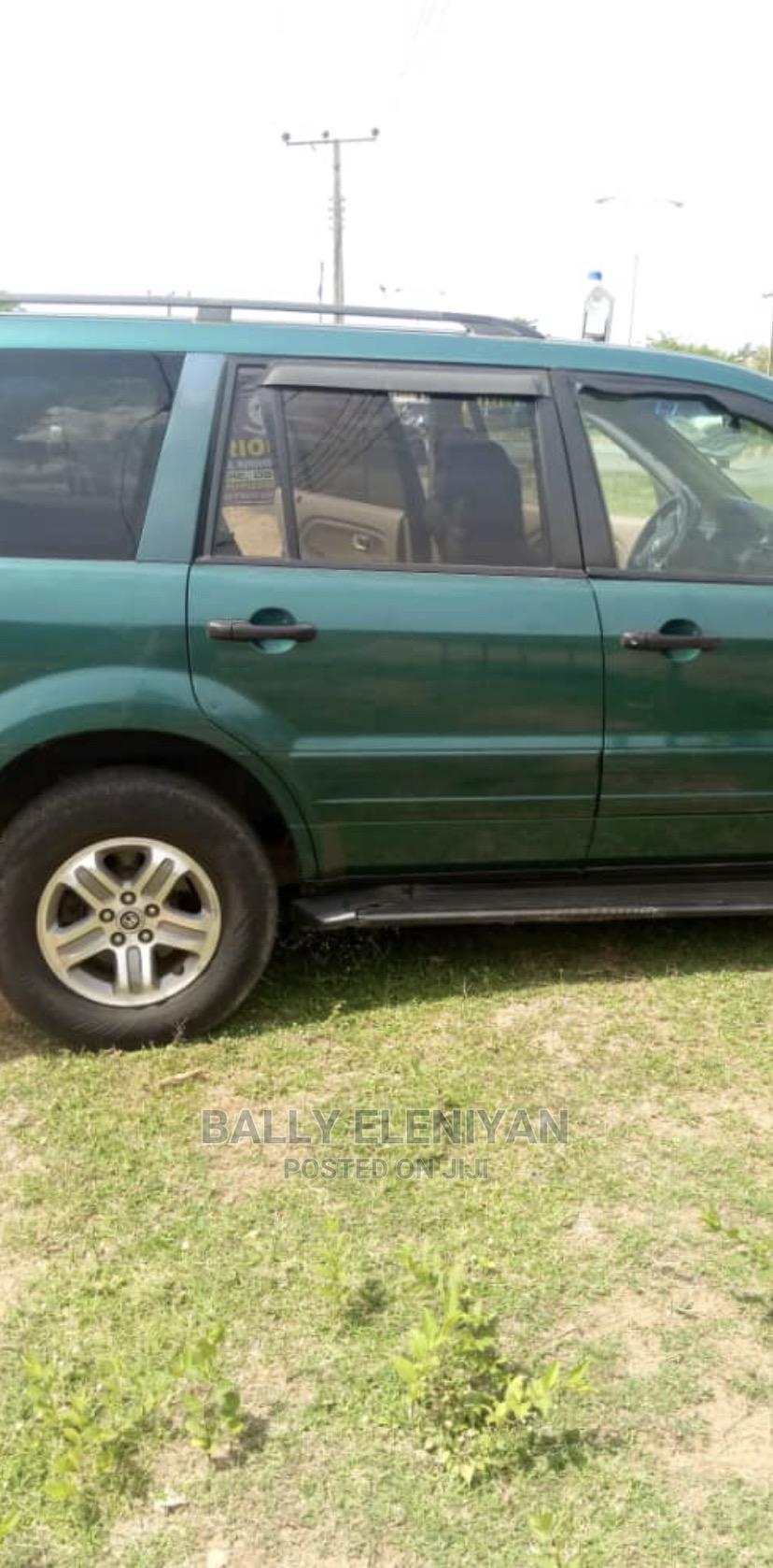 Archive: Honda Pilot 2003 EX 4x4 (3.5L 6cyl 5A) Green