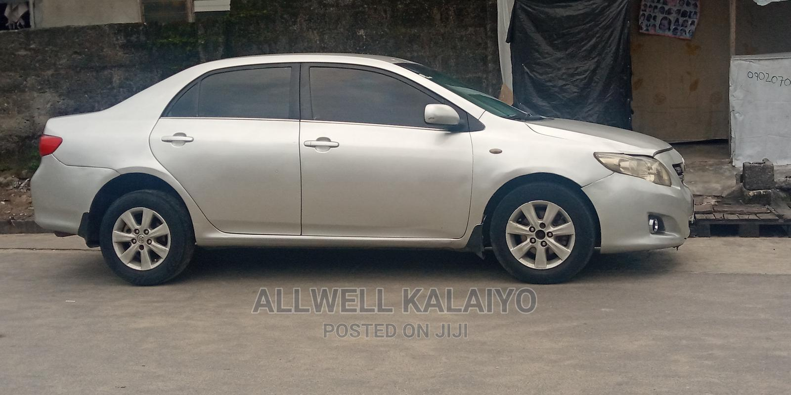 Toyota Corolla 2009 1.8 Advanced Gray | Cars for sale in Port-Harcourt, Rivers State, Nigeria