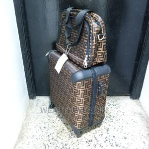 All Round Wheel Brown Hardcase Trolley Luggage | Bags for sale in Lagos State, Ikeja