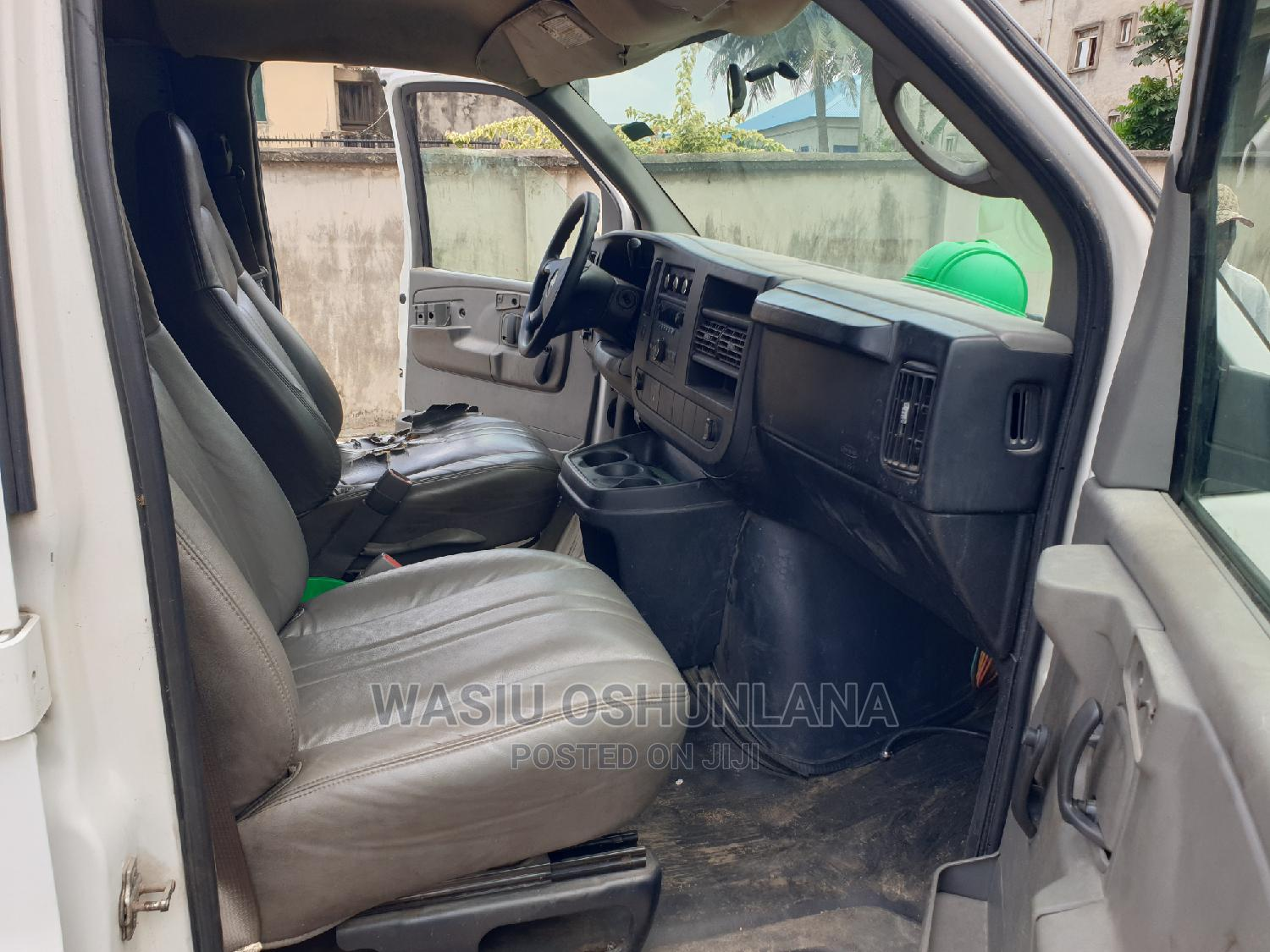 Chevrolet Express 2008 Cargo Van G2500 White   Buses & Microbuses for sale in Isolo, Lagos State, Nigeria