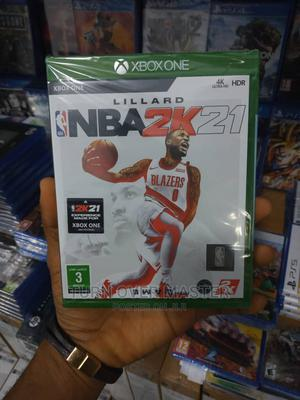 Xbox One -Xbox Series X Nba2k21 | Video Games for sale in Lagos State, Ikeja