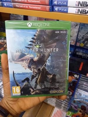 Xbox One-Xbox Series X Monster Hunter World   Video Games for sale in Lagos State, Ikeja