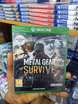 Xbox One-Xbox Series X Metal Gear Survive   Video Games for sale in Lagos State, Ikeja
