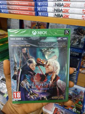 Xbox One-xbox Series X Devil Maycry 5   Video Games for sale in Lagos State, Ikeja