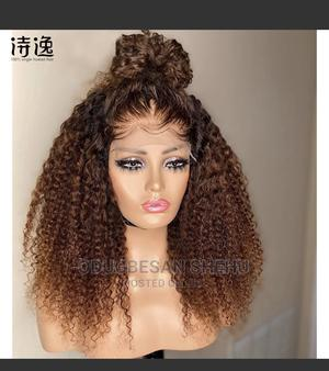 Curly Hair Wig   Hair Beauty for sale in Lagos State, Ojo