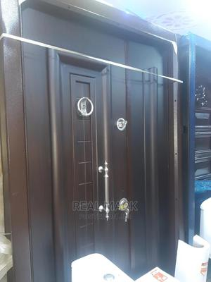 Turkey Armoured Door With Adjustable Frame   Doors for sale in Lagos State, Apapa