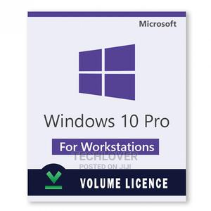 Windows 10 Pro for Workstations (Volume Licence) | Software for sale in Oyo State, Ibadan