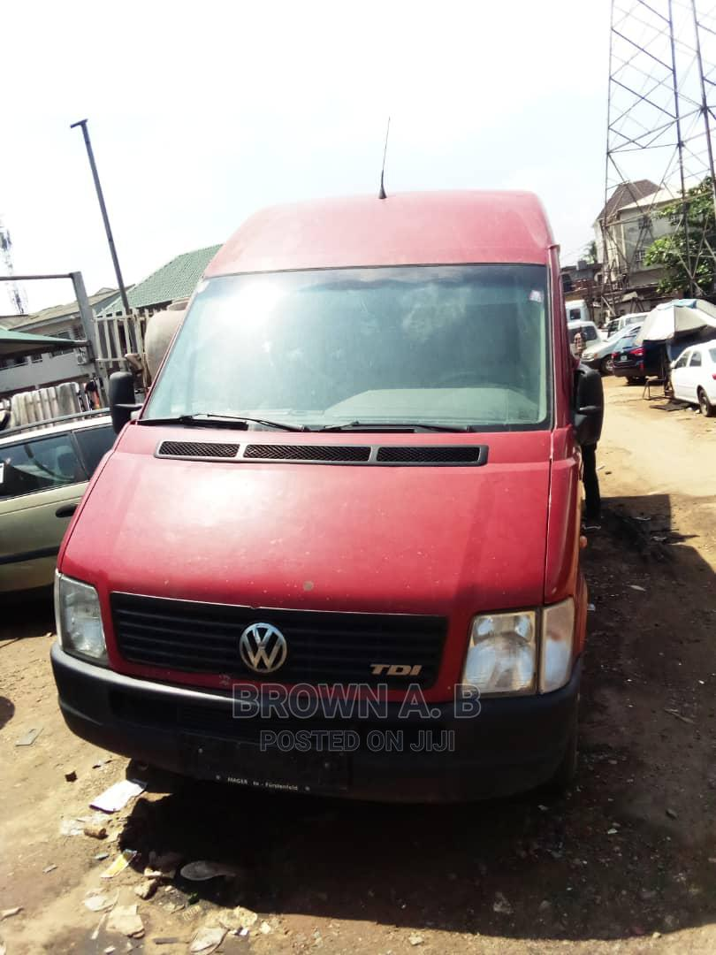 Volkswagen LT 2004 Red | Buses & Microbuses for sale in Surulere, Lagos State, Nigeria