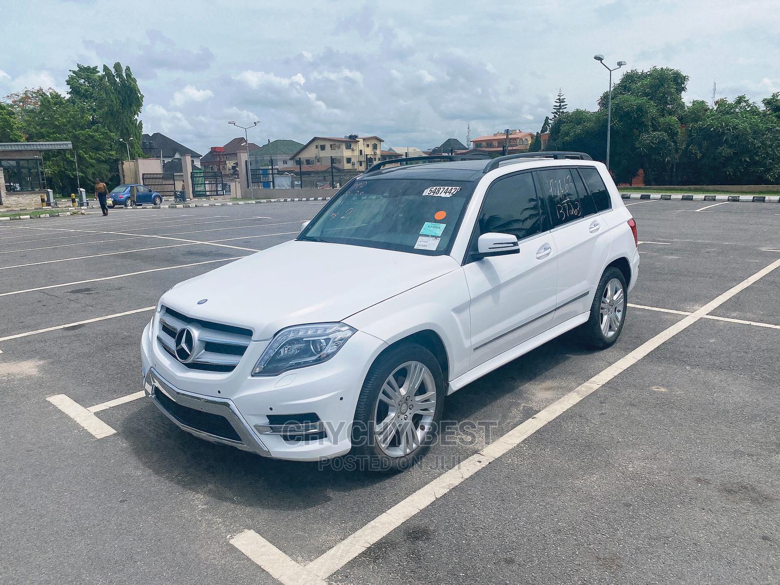 Mercedes-Benz GLK-Class 2015 White   Cars for sale in Amuwo-Odofin, Lagos State, Nigeria