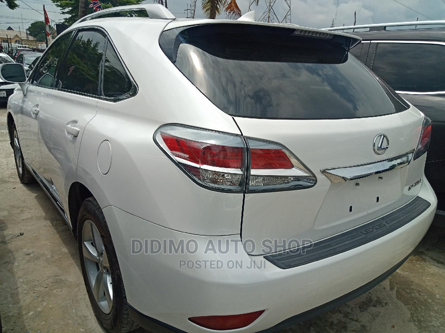 Lexus RX 2014 350 AWD White | Cars for sale in Ajah, Lagos State, Nigeria