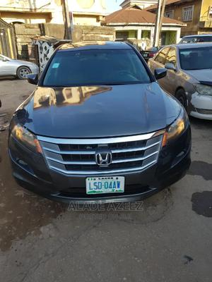 Honda Accord CrossTour 2010 EX-L AWD Gray | Cars for sale in Lagos State, Surulere