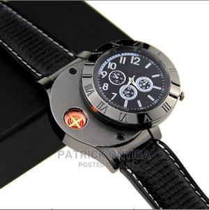 Smokers USB Rechargeable Cigarette Lighter Men's Watch | Watches for sale in Abuja (FCT) State, Wuse 2