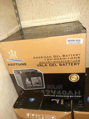12V 40ah Neptune Solar Batteries | Solar Energy for sale in Lagos State, Ojo