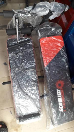 Sit Up Bench With Resistance Band and Dumbell | Sports Equipment for sale in Lagos State, Lekki