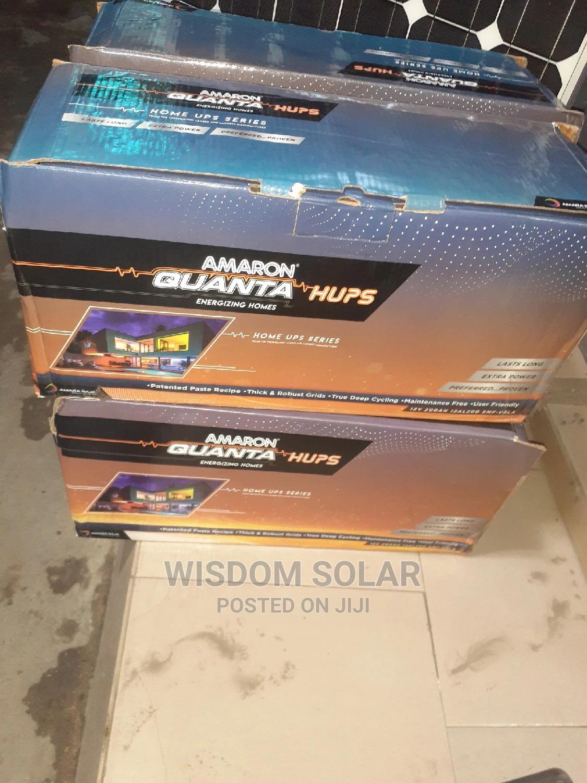 12V 200ah Amaron Quanta Solar Batteries
