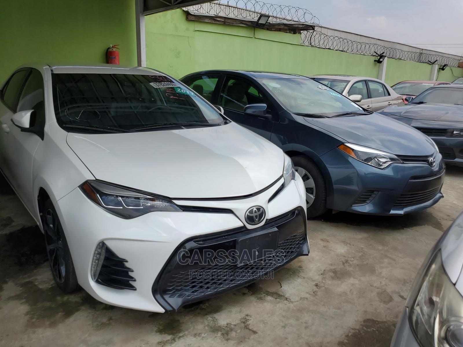 Toyota Corolla 2017 White | Cars for sale in Agege, Lagos State, Nigeria