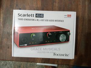 Scarlett 4i4 3rd Gen Usb Recording Interface   Audio & Music Equipment for sale in Lagos State, Ojo