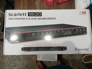 Scarlett 18i20 - Usb Audio Interface With Pro Tools   Audio & Music Equipment for sale in Lagos State, Ojo