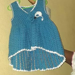 Hand Knitted Curve Edge Gown   Children's Clothing for sale in Lagos State, Apapa