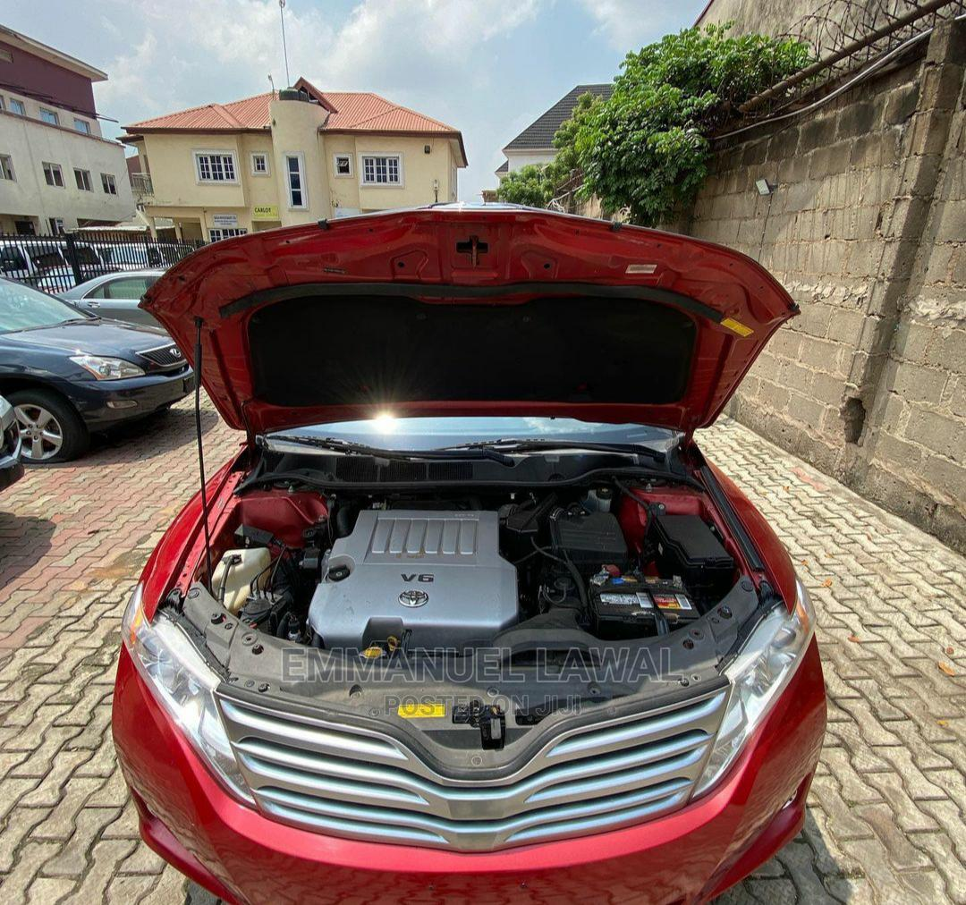 Toyota Venza 2010 Red   Cars for sale in Ikeja, Lagos State, Nigeria