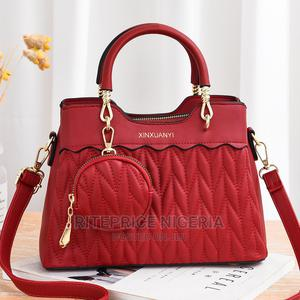 Ladies Wine Red Hand Bag | Bags for sale in Lagos State, Ikeja