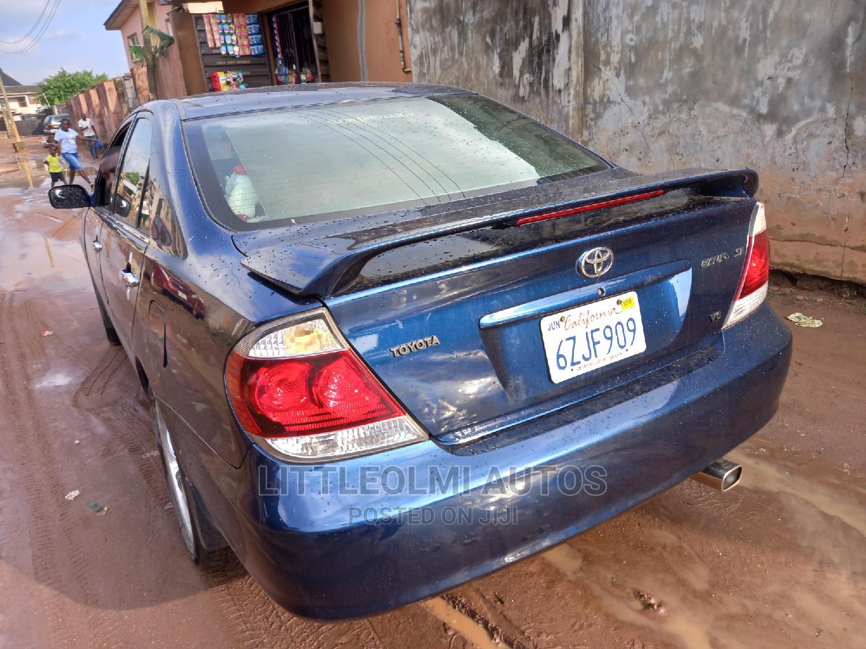 Toyota Camry 2005 Blue | Cars for sale in Ifako-Ijaiye, Lagos State, Nigeria