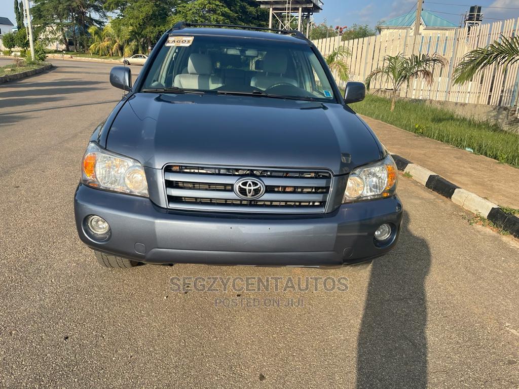 Toyota Highlander 2007 V6 Blue   Cars for sale in Galadimawa, Abuja (FCT) State, Nigeria