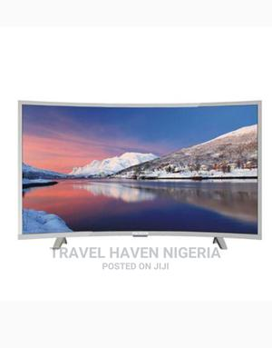 """Polystar 40"""" Inches Curve Smart TV + Netflix Free Hanger 