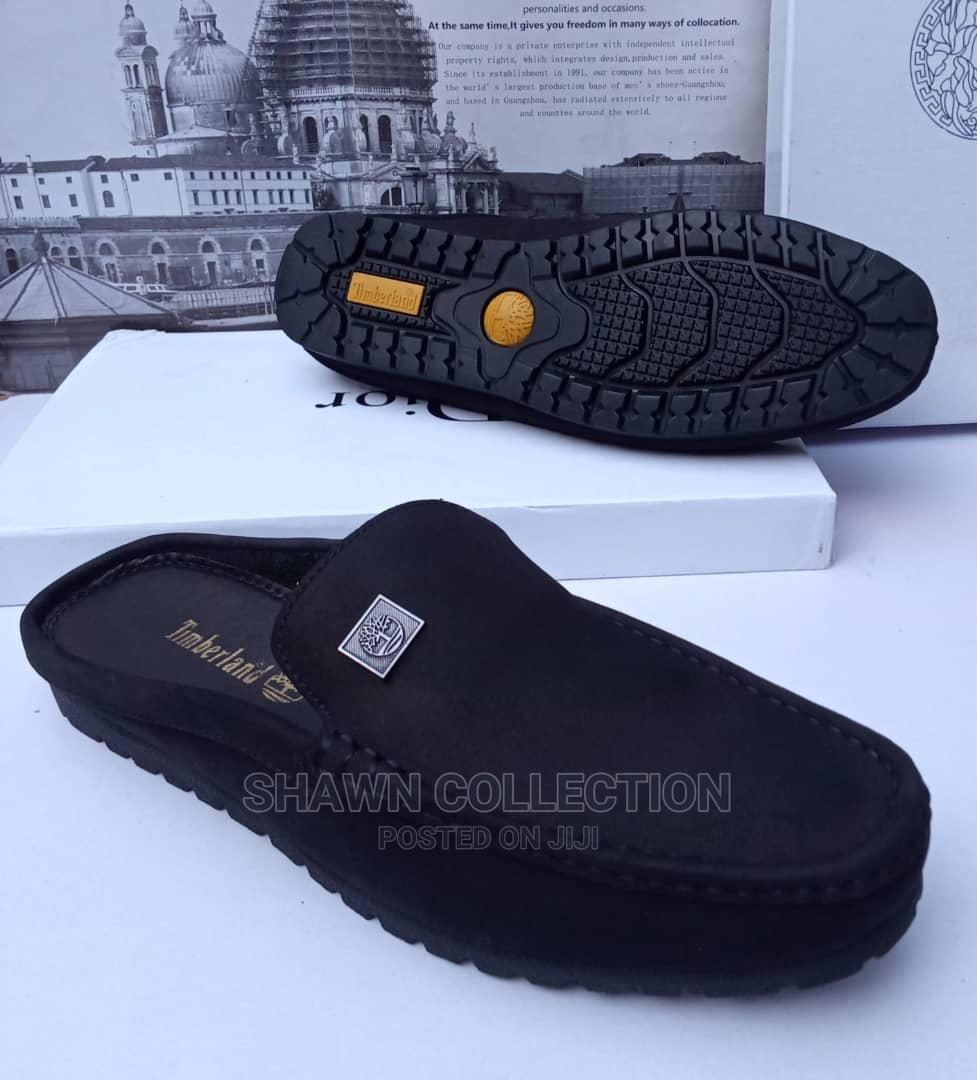 Timberland Suede Half Loafers