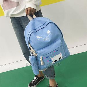 Blue 5pcs/Set Backpack Shoulder Bag School Student Bag | Bags for sale in Lagos State, Surulere