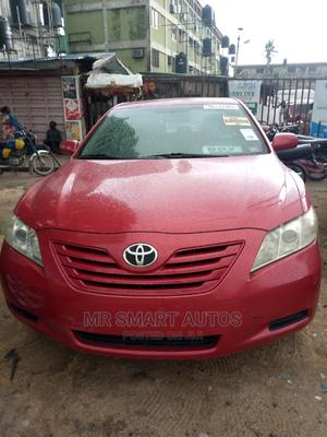 Toyota Camry 2008 2.4 LE Red | Cars for sale in Lagos State, Amuwo-Odofin
