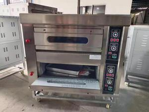 Two Decks Four Trays Gas Oven | Industrial Ovens for sale in Lagos State, Ojo